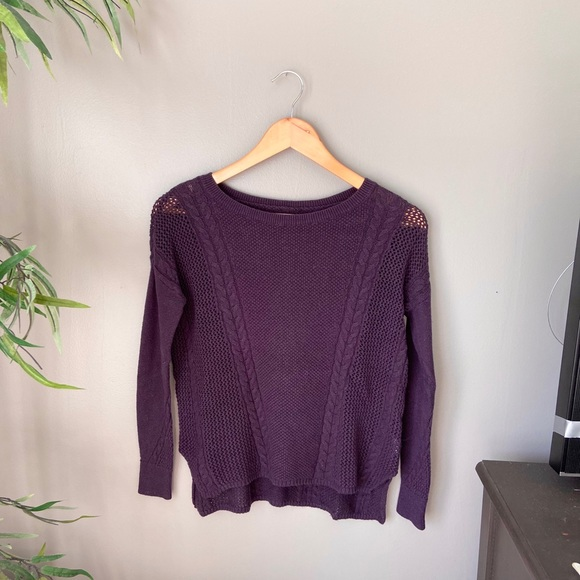 American Eagle Outfitters Tops - Purple American Eagle sweater💜